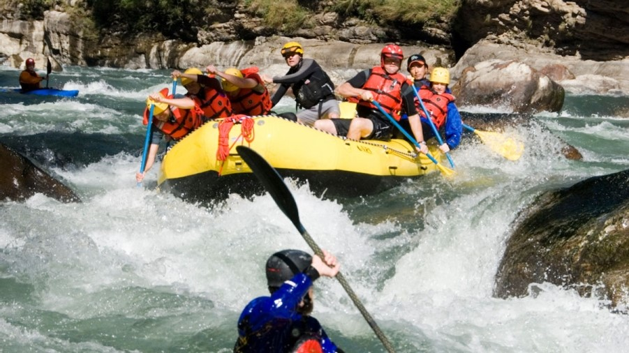 Kayaking & Rafting Tour
